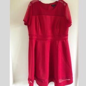 🔸Lane Bryant red dress